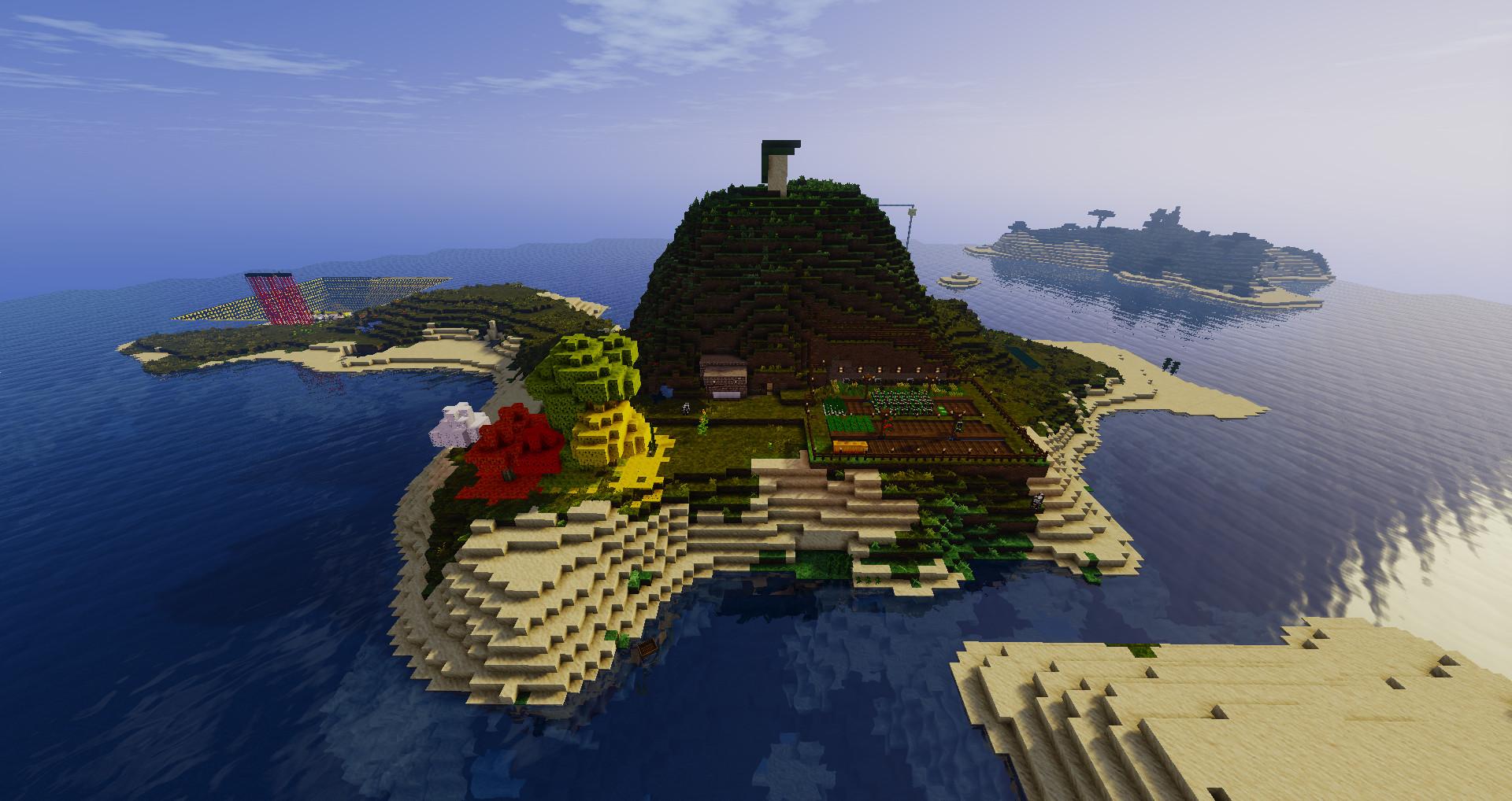 大陸かと思ったら島国でした