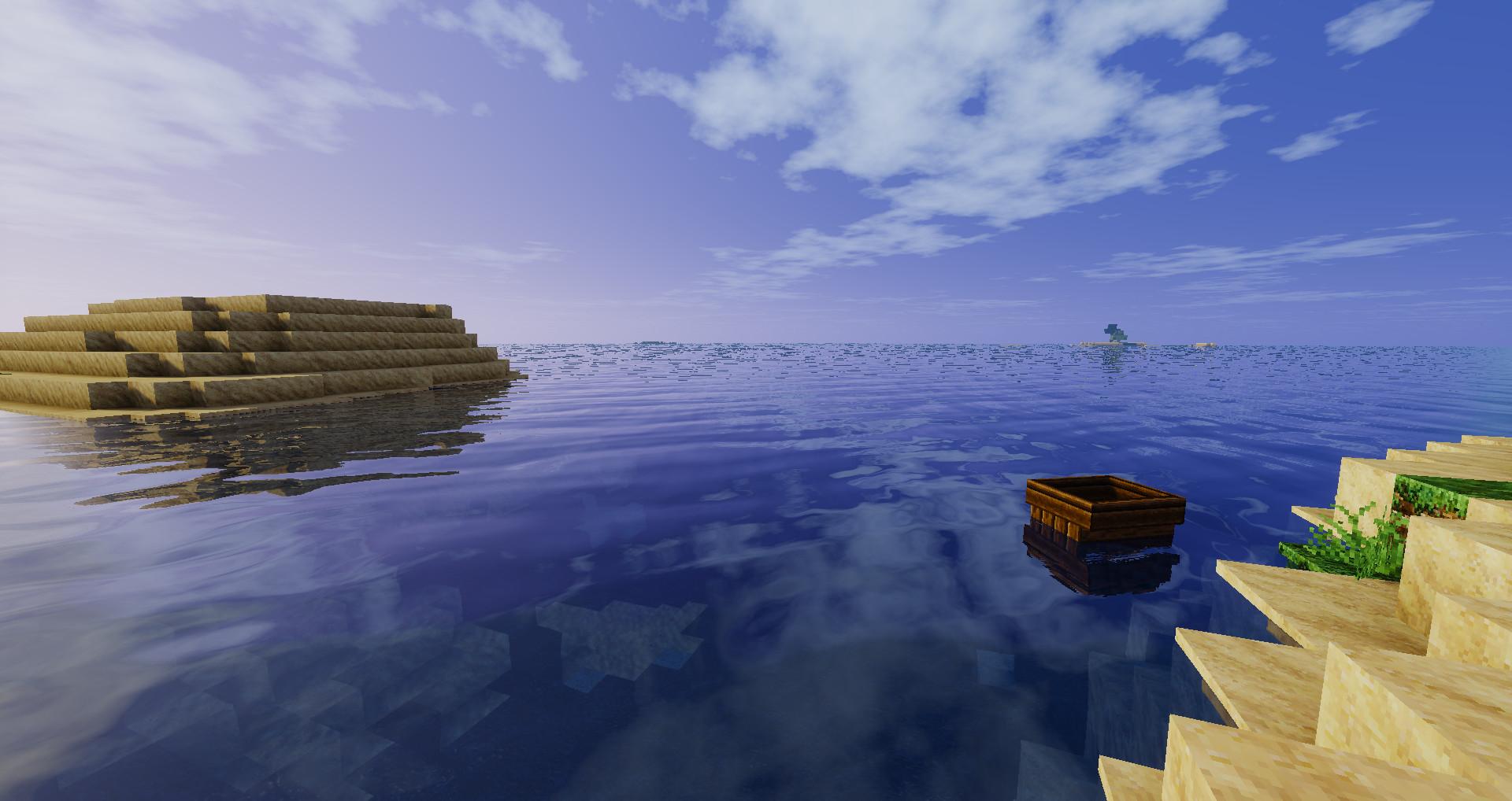 海キレイね