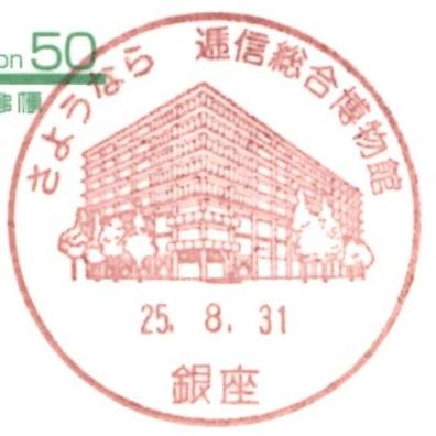 さようなら逓信総合博物館