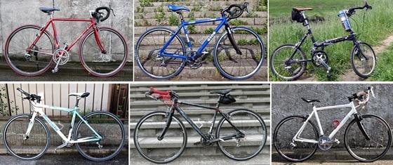 自転車6台