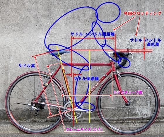 自転車セッティング3