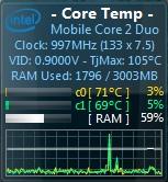 CPU温度前