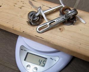 シフトレバー重量