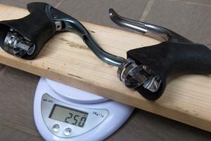 ブレーキレバー重量