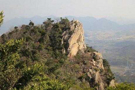陶が岳岩崖