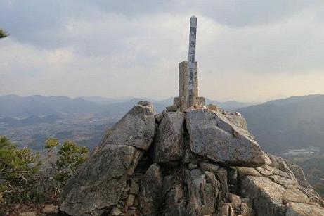 陶が岳頂上