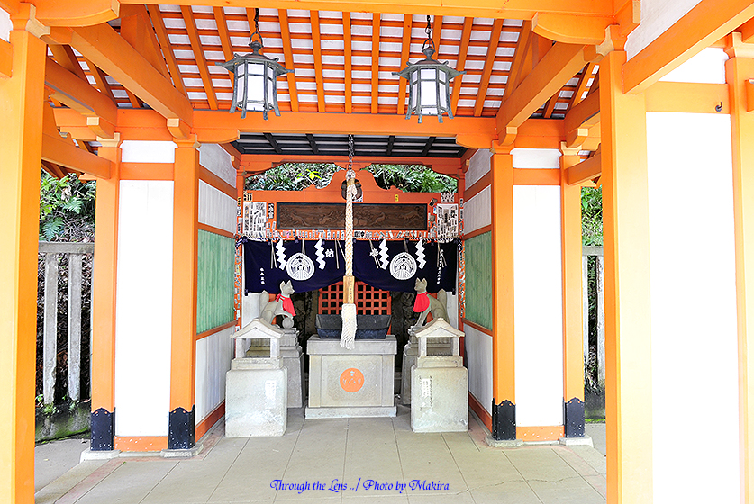 乙女稲荷神社(摂末社)