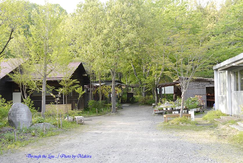 花之江の郷入口