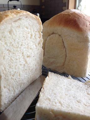 ピタパン生地の食パン