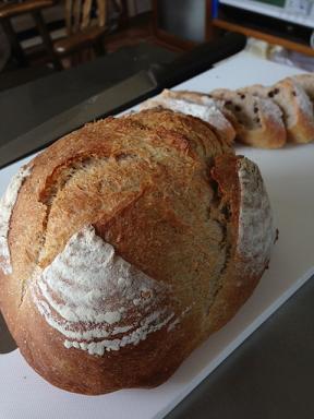 穂の花のパン