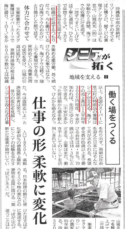 沖縄 高齢者 雇用