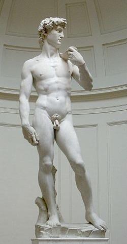 ミケランジェロ ダビデ像