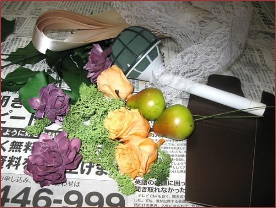 フルーティーブーケ_材料