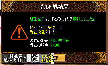 2013-05-19-vs紅孔雀_I-Gv結果