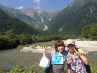 上高地 with nao