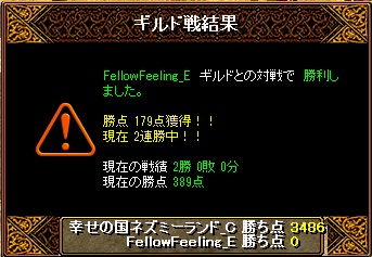 14.12.7FellowFeeling様 結果