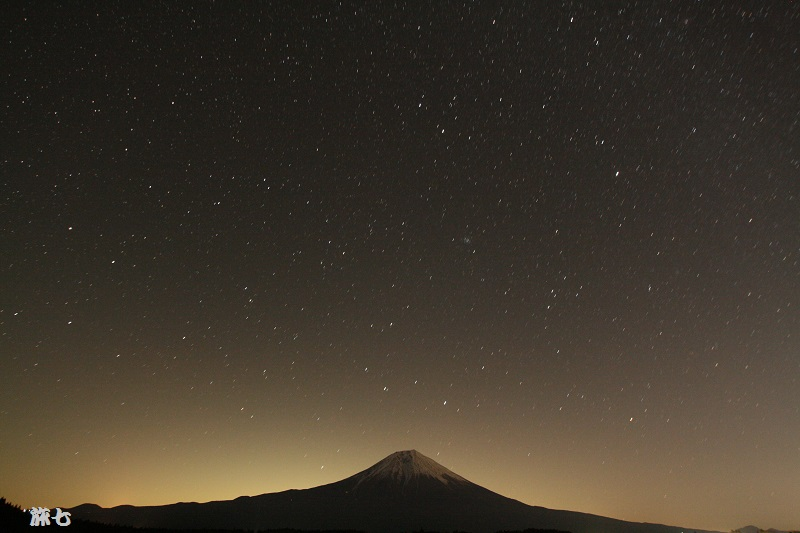 田貫湖ふたご座流星群流星無し