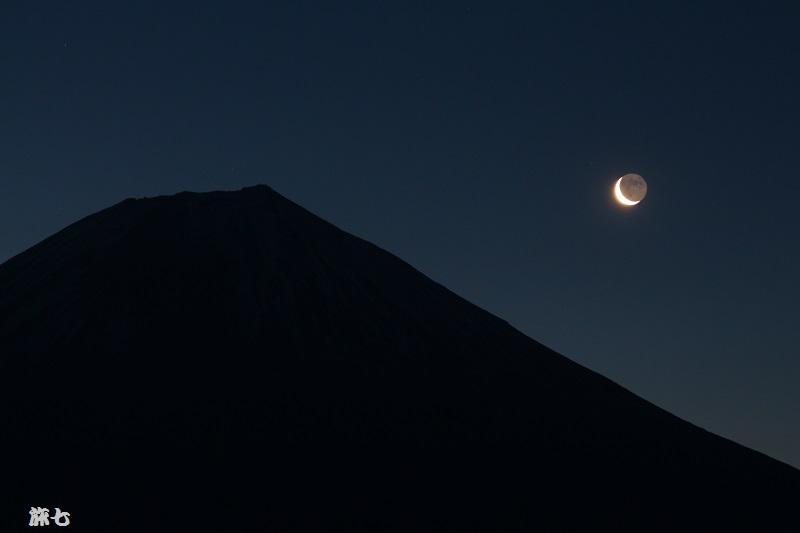 三日月富士
