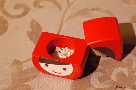 ⑤アリス乳歯ケース中mini