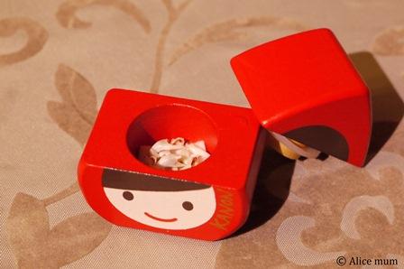 ⑦カノン乳歯ケース中mini