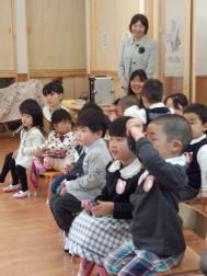 保育園の子供たち