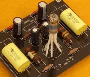6021 Subminiature Tube Line PreAmp