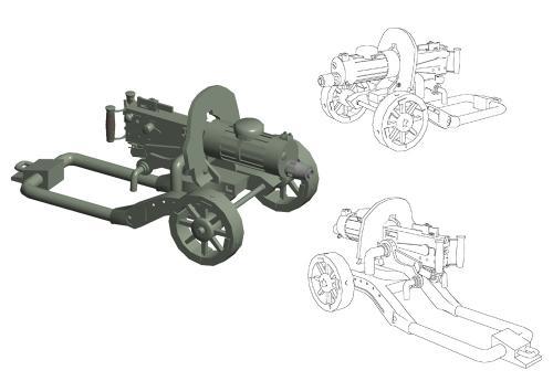 Anime007 - PM1910 マキシム機関銃