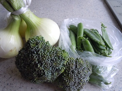 友だちの野菜