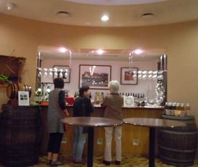 ワイン試飲所