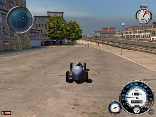 MAFIA 3台のレーシングカー
