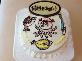 お魚ケーキ