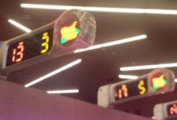 ハイビスカス回数表示灯