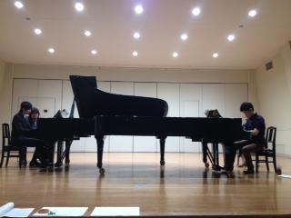 アンサンブル2台ピアノ