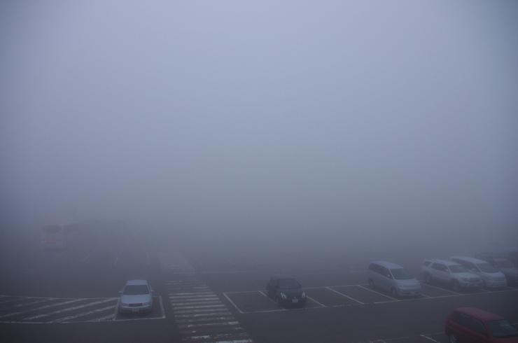 濃霧の浄土平