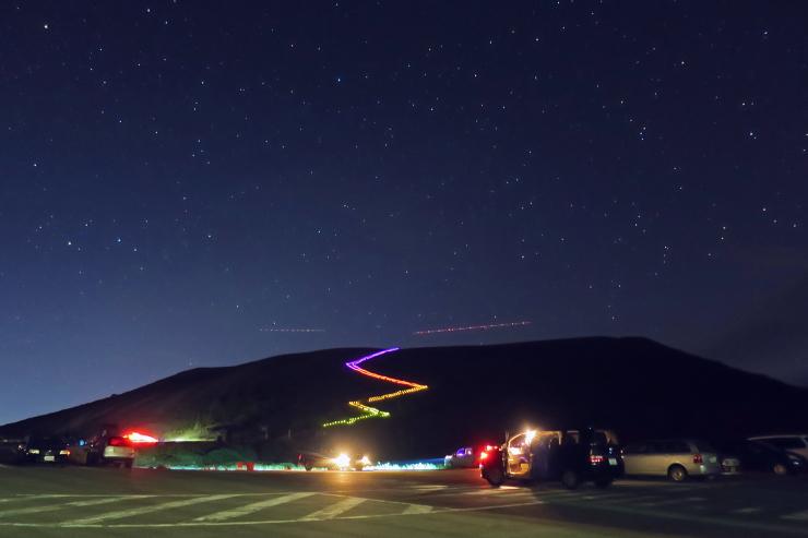 2013.09.28 虹色の梯子
