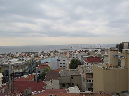 エーゲ海と黒海の間・・マルマラ海を望む