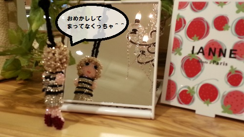 IANNEちゃん 鏡