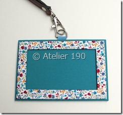 Atelier190 IDカードホルダー