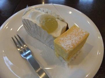 チーズ・マンゴーケーキ