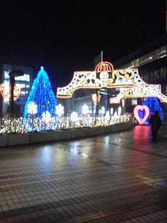 141129所沢駅前イルミネーション