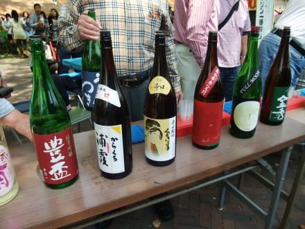 日本酒味きき