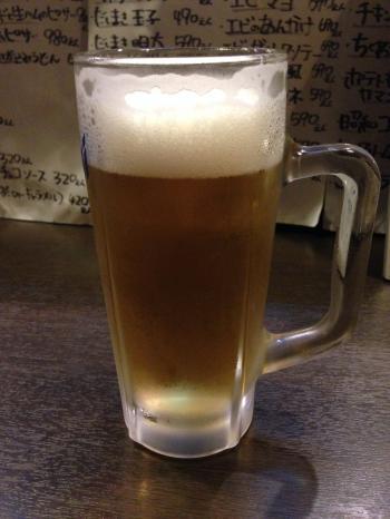生ビールだよん