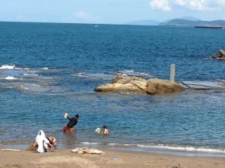 番神海水浴