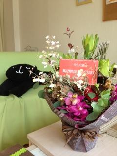二周年お花