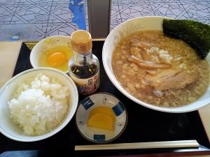 新潟遠征2日目朝食