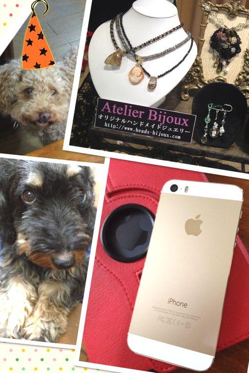 キタ~ iPhone 5s☆今後のジュエリーデザイン制作