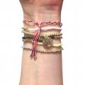 W821 Coco Bracelet set - Gold (2)