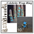 Turquoise Wrap Ring Gold 10 (1)
