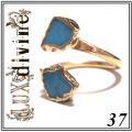Turquoise Wrap Ring Gold 37 (1)