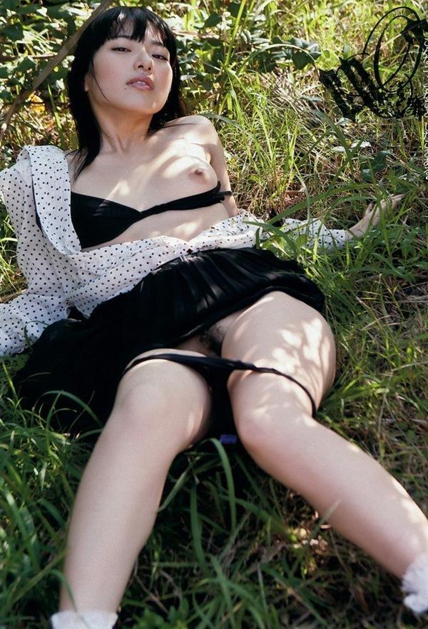 エロ画像 美乳おっぱい 全裸 ヌード 由愛可奈 アダルト大賞